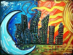Laura Barbosa Celestial City 7087