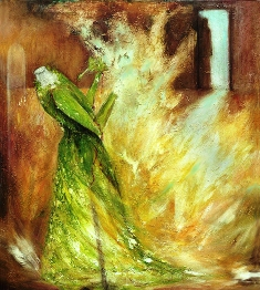 Martine L'étoile - putting out the fire