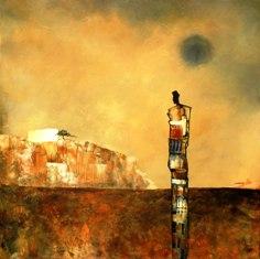 MICHEL THIBAULT solitaire36x36galerieklimantiris