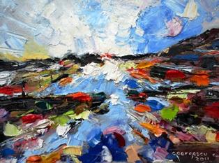 CARMEL Frunte de cer,Dimensiuni 30X20 cm,Anul realizarii 2011