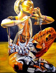 Isabelle Sauvineau Danse_indienne-403x525