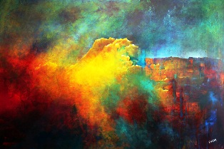 Elizabeth Weber_Echo's Mountain_Perspective in Fusionart
